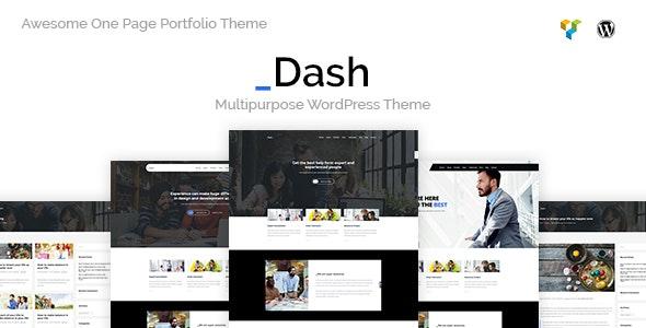 Dash - Creative Business Theme - Creative WordPress