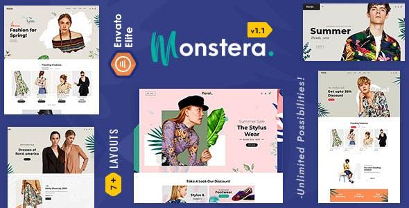 Monstera 2.0 - Shopify Multi purpose Responsive Theme
