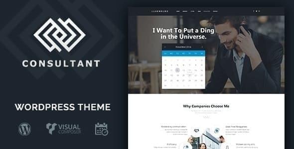 Consultant | WordPress Theme - Business Corporate