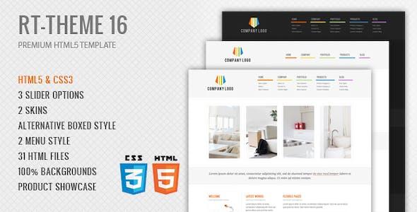 RT-Theme 16 Premium HTML5 Template