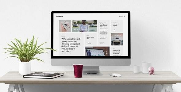 Pasadena - Contemporary Branding Agency Joomla Template - Portfolio Creative