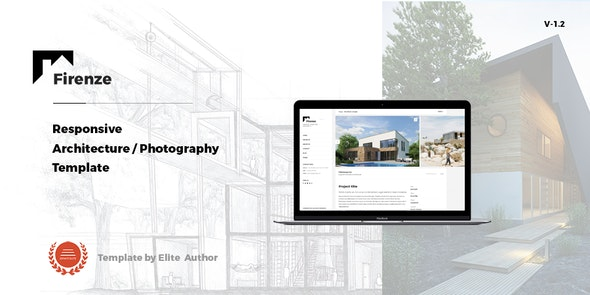 Firenze - Responsive  Architecture /  Architect Template - Business Corporate