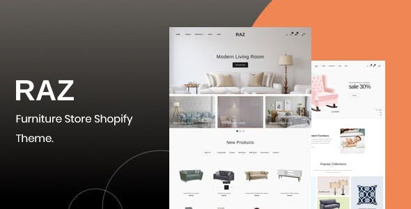 Raz – Furniture Shopify Theme - Shopping Shopify