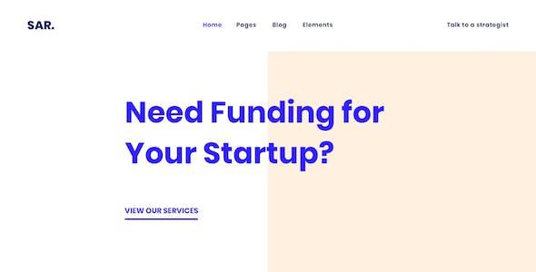 Sarmaya - Finance & Business Consulting HTML Template