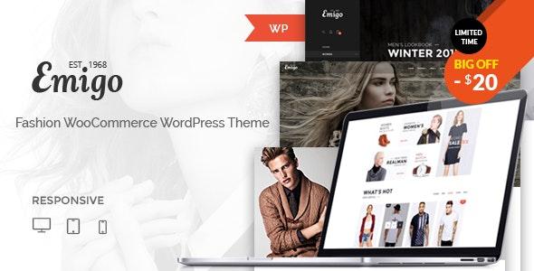 Emigo - Fashion WooCommerce WordPress Theme - WooCommerce eCommerce