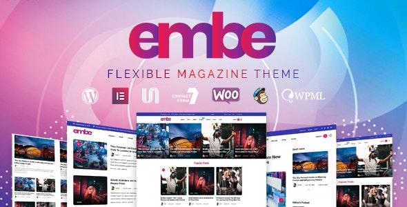 EmBe - Flexible Magazine WordPress Theme - Blog / Magazine WordPress
