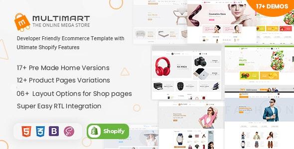 Multimart - Shopify Responsive Theme - Shopify eCommerce