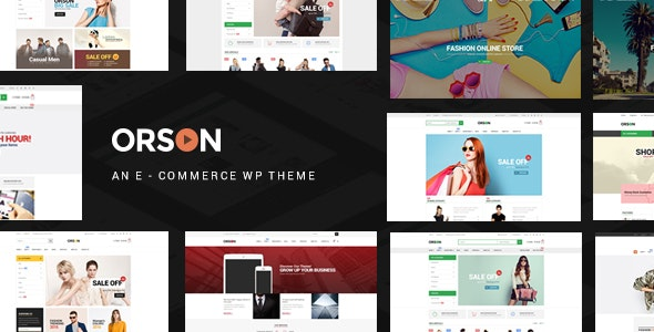 Orson - WordPress Theme for Online Stores - WooCommerce eCommerce