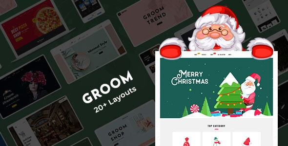 Groom - Shopify Multi-Purpose Responsive Theme - Shopping Shopify