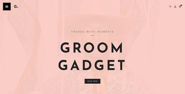 Groom - Shopify Multi-Purpose Responsive Theme