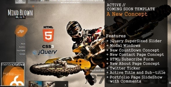 Active Coming Soon - Under Construction Specialty Pages