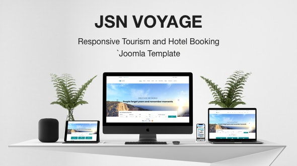 JSN Voyage - Responsive Tourism and Hotel Booking Joomla Template. - Travel Retail