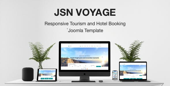 JSN Voyage - Responsive Tourism and Hotel Booking Joomla Template.