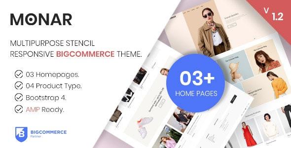 MONAR - Multipurpose Stencil Responsive BigCommerce Theme. - BigCommerce eCommerce