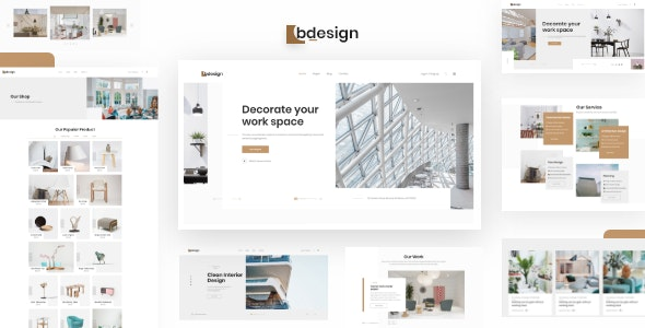 Bdesign - Architecture & Interior HTML Template - Creative Site Templates