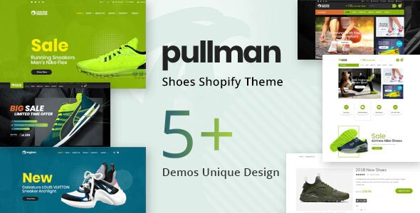 Pullman – Shoes Store Shopify Theme - Fashion Shopify