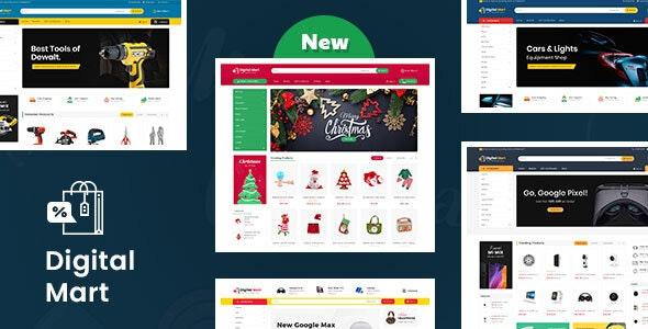 Digital Mart - Opencart Multi-Purpose Responsive Theme - Shopping OpenCart