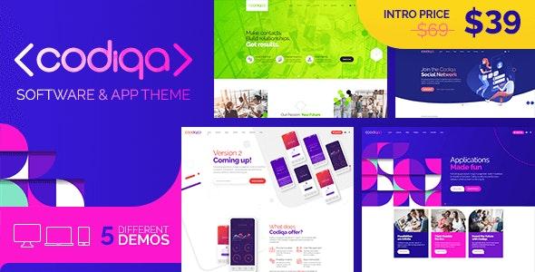 Codiqa - Software, App & Digital - Software Technology