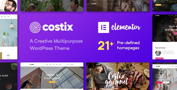 Costix - All-in-One Elementor WordPress Theme