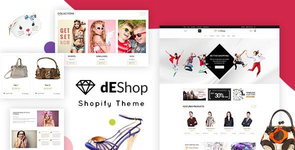 dEShop - Multipurpose eCommerce Shopify Theme
