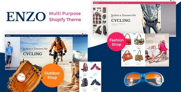 ENZO - Responsive Shopify Theme - Fashion Shopify