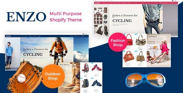 ENZO - Responsive Shopify Theme