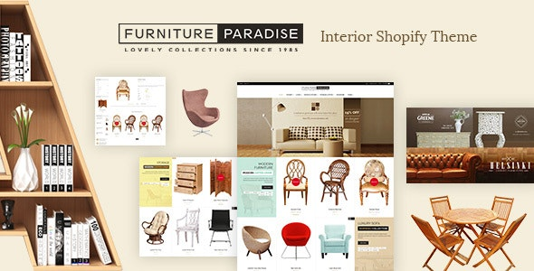 Furniture - Interior Decor Shop Shopify Theme - Miscellaneous Shopify