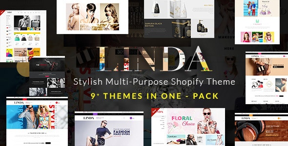 Linda - Custom, Multipurpose Shopify Theme - Shopping Shopify