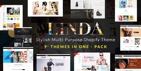 Linda - Custom, Multipurpose Shopify Theme