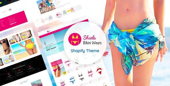Sheila - Shopify Bikini Fashion, Lingerie Store