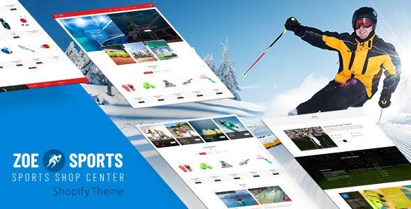 Zoe - Sports Store Shopify Theme - Miscellaneous Shopify