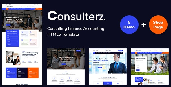 Consulterz - Consulting Finance Accounting - Business Corporate