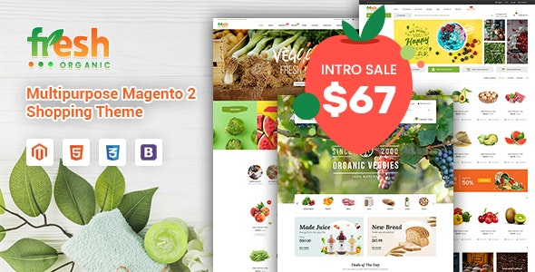Fresh - Multipurpose Responsive Magento 2 Theme - Shopping Magento