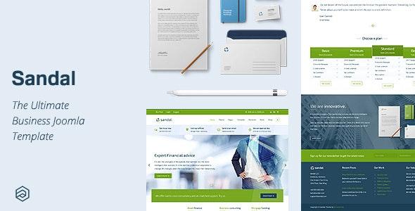Sandal - Ultimate Responsive Business Joomla Template - Business Corporate