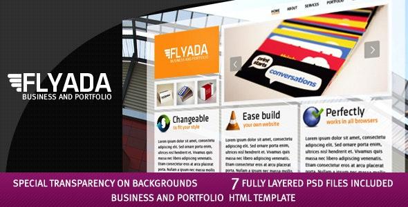 FLYADA - Business and Portfolio HTML Template - Creative Site Templates