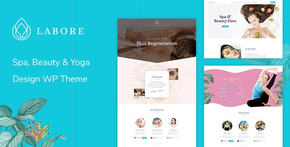 Labore - Spa & Beauty WordPress Theme - Health & Beauty Retail