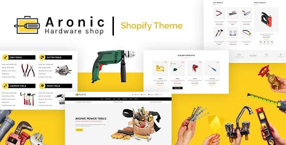 Aronic | Hardware Shop & Handyman Services Shopify - Technology Shopify