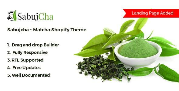 Matcha Shopify Theme - Sabujcha