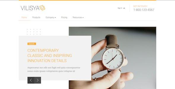 Vilisya - Minimalist Business HTML Template