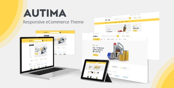 Autima - Car Accessories Theme for WooCommerce WordPress - WooCommerce eCommerce