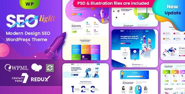 Seolight - Digital & Marketing WordPress - Marketing Corporate