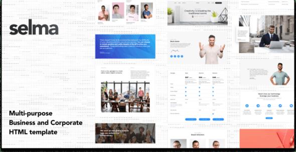 Selma - Business & Corporate HTML Templates - Business Corporate