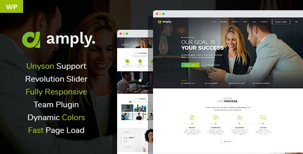 Amply - WordPress theme for Digital Business - Business Corporate