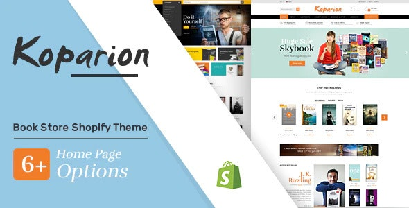 Koparion - Book Shop Shopify Theme - Shopping Shopify