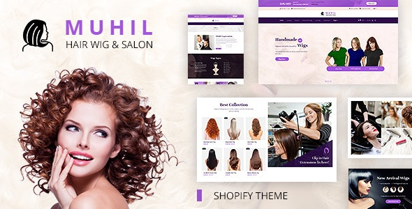 Muhil | Hair Wig & Hair Stylist Service Shopify Store - Health & Beauty Shopify