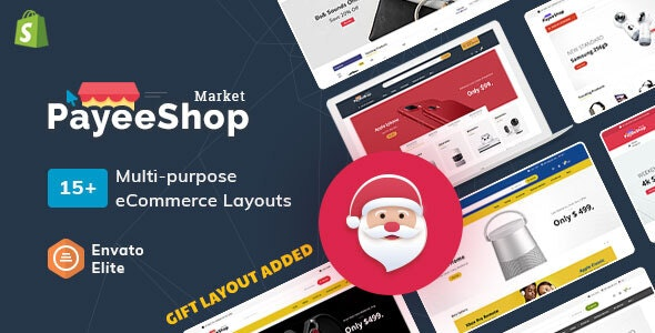 Payee Shop - Shopify Multi-Purpose Responsive Theme - Technology Shopify