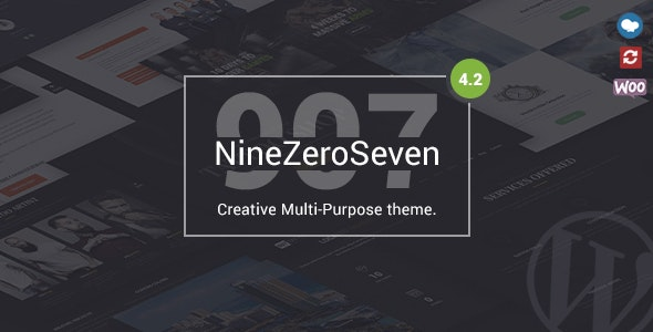 907 - Responsive Multi-Purpose WordPress Theme - Portfolio Creative
