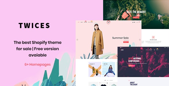 Ap Twices - All-in-one eCommerce Shopify Theme - Shopping Shopify