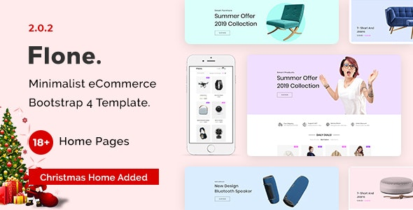 Flone - Clean, Minimal eCommerce HTML Template - Fashion Retail