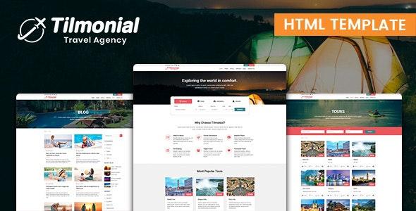 Tilmonial - Responsive HTML5 Template for Tour & Travel Agency - Travel Retail